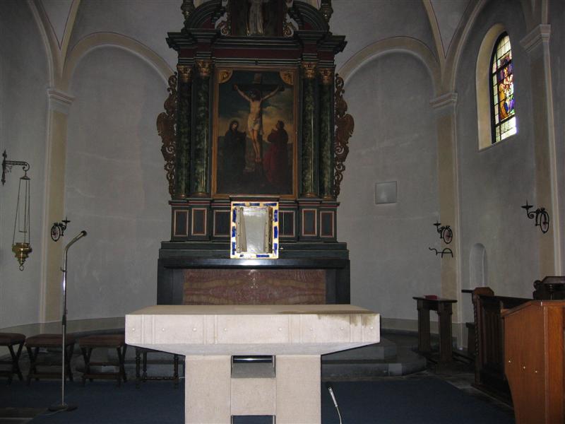 abräumen des altars am gründonnerstag